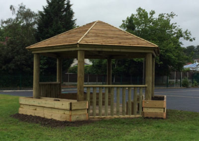 image of an outdoor classroom for Discovering Days
