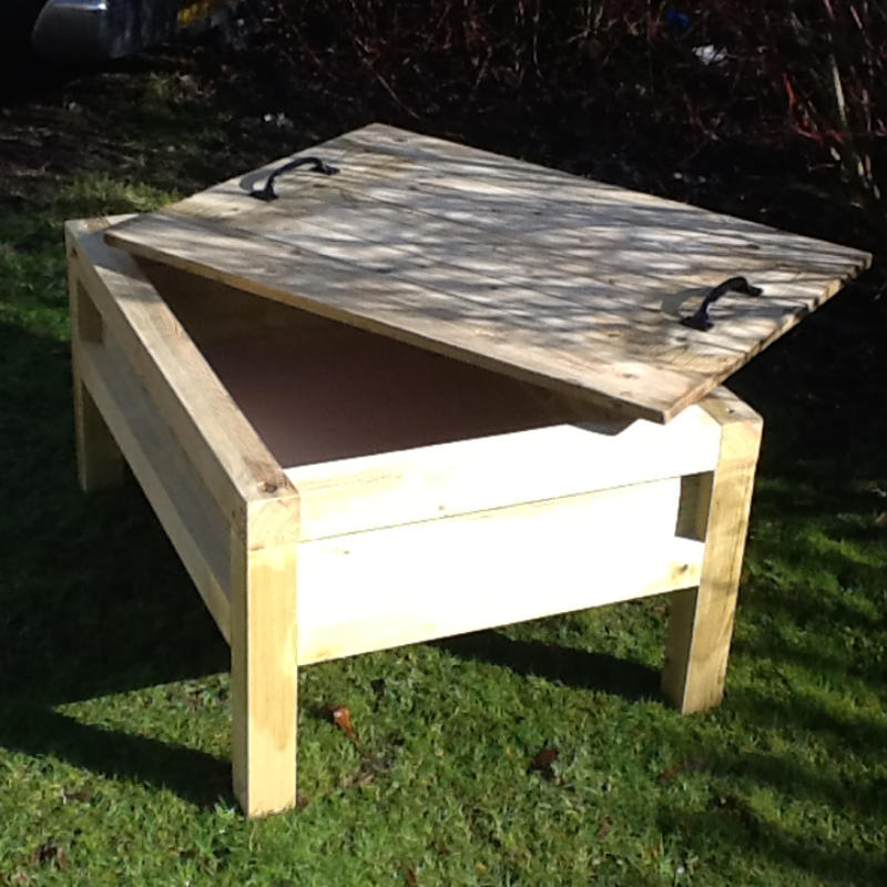 Sand Table With Lid