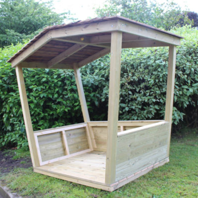 Wooden Play Hut