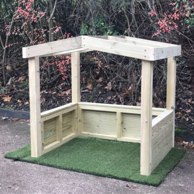 Wooden Play Hut