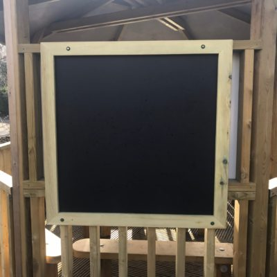 Wall Mounted Chalk Board from Discovering Days