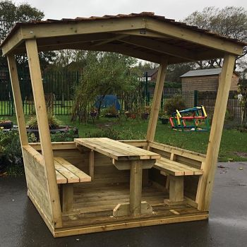 Play Huts and Outdoor Classrooms