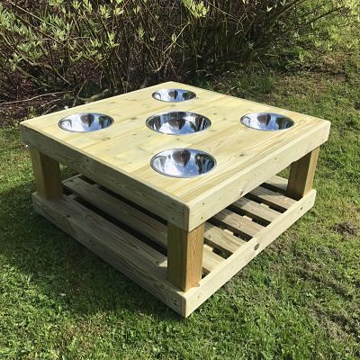 Wooden Mixing Table for children