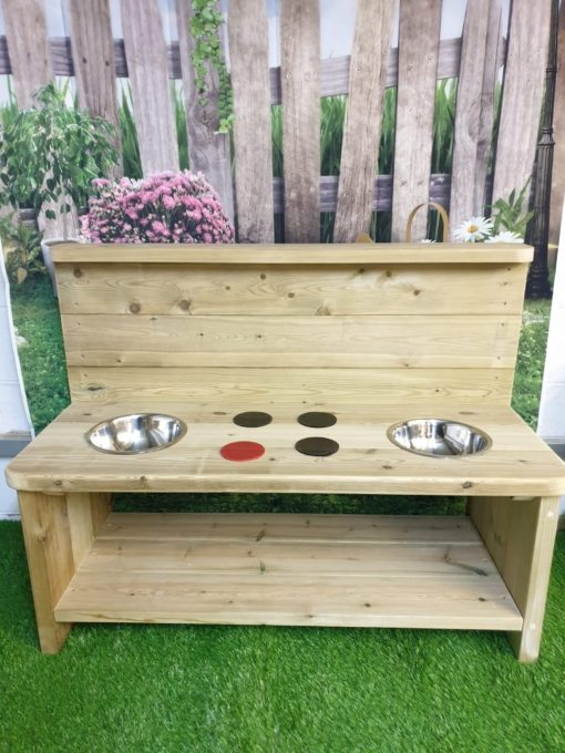 sturdy large mud kitchen unpainted