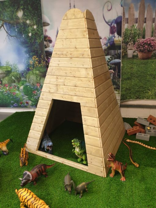 WoodenTeepee from Discovering Days