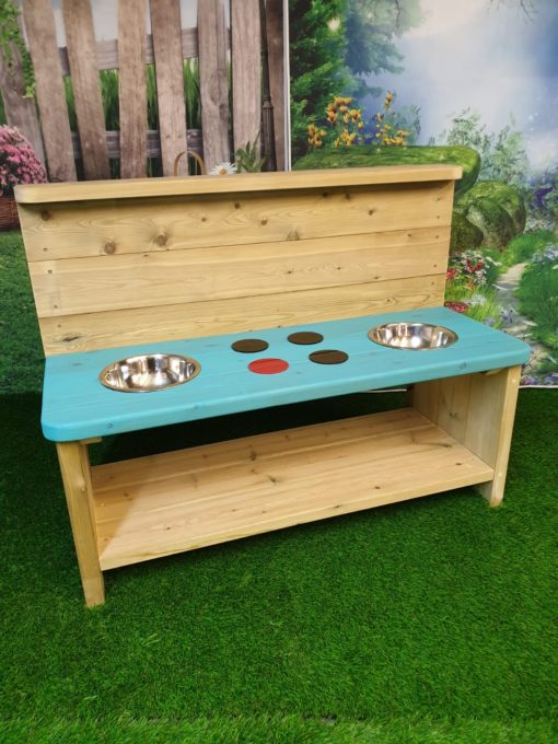 large mud kitchen from Discovering days