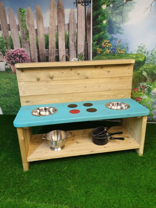 Turquoise Balmoral Large Mud Kitchen