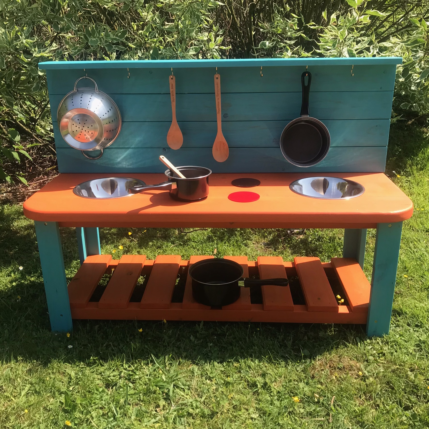 Discovering Days Wooden Mud Kitchen