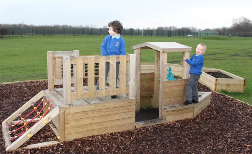 wooden playground equipment is sustainable and long lasting