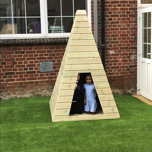Childrens Wooden Teepee